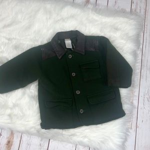 Baby GAP Army Green Wool Coat